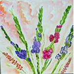 impressionist floral art