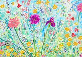 impressionist floral
