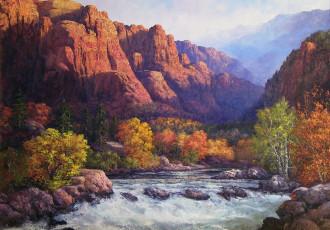 sedona, southwest art, landscape