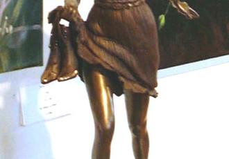 figurative bronze art