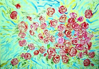 floral art, buy art in scottsdale, valentines gift
