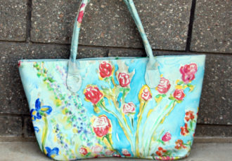wearable art, floral fashion