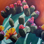 paintings of cacti