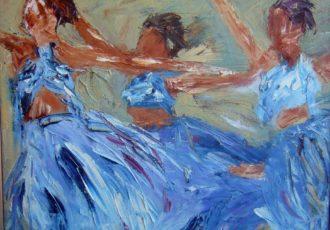 impressionist ballerinas