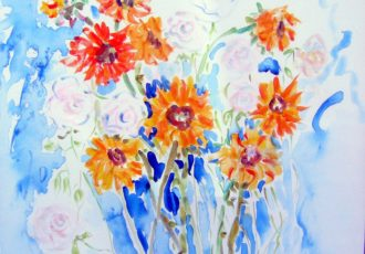 floral art, flowers, art gallery, art gallery in scottsdale,