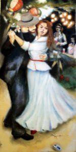 Renoir inspired painting